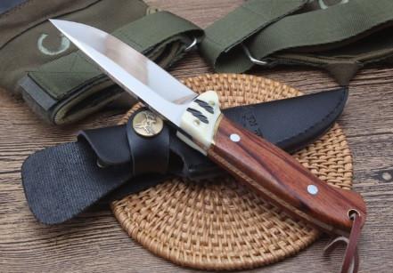 Мисливський ніж в чохлі Elk Ridge 252