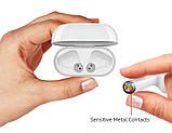 Бездротові сенсорні навушники i99-TWS з дисплеєм, фото 7