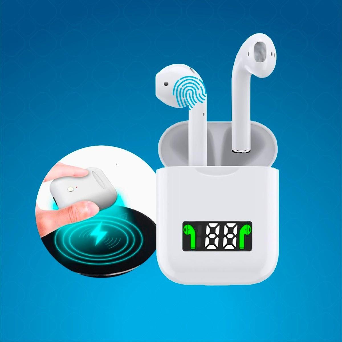 Бездротові сенсорні навушники i99-TWS з дисплеєм