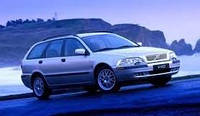 Дефлекторы окон, ветровики \ Volvo V40 5d 1996-2003 (+OT) combi \ Вольво В40 RACING