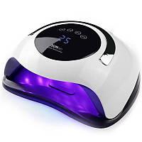 Гибридная лампа для сушки гелей, лаков, гель-лаков 120ВАТ UV LED SUN BQ5T