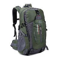 Рюкзак хаки (болотный) спортивный для путешествий и туризма