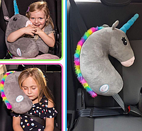 Подушка Единорог в машину для ребенка