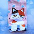 Шкарпетки жіночі короткі з принтом рожеві розмір 36-41, фото 5