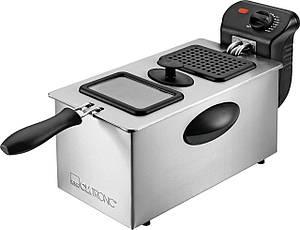 Фритюрница  CLATRONIC FR 3587 емкость 3 литра, нержавеющая сталь