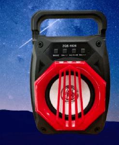 Портативная колонка Bluetooth ZQS-1826C 15x10.5 см Blue Красный