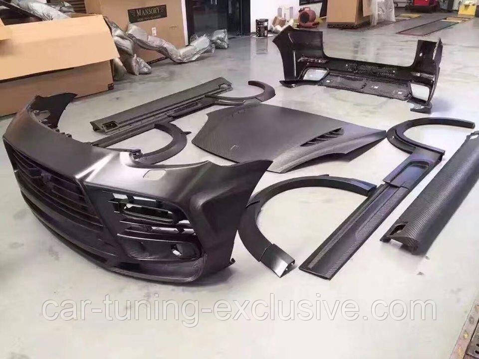 MANSORY Body kit for Porsche Cayenne
