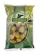 Оливки Verdi Dolci Giganti Vittoria, ПАКЕТ, 500г нетто 850г брутто