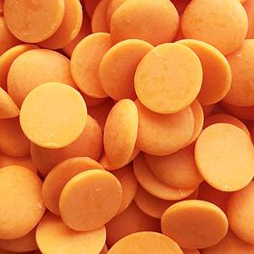 Глазур шоколадна помаранчева диски