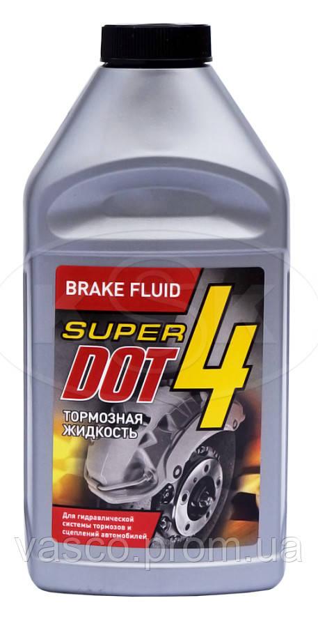 ДОТ 4  в п/е пл. 0,440 кг гальмівна рідина (SUPER DOT 4)
