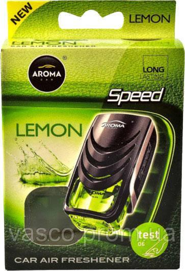 Ароматизатор AROMA Car Speed LEMON (92315) (20шт)