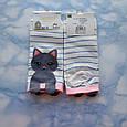Шкарпетки жіночі з принтом кремові короткі розмір 36-41, фото 4
