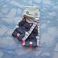 Шкарпетки жіночі з принтом кремові короткі розмір 36-41, фото 3