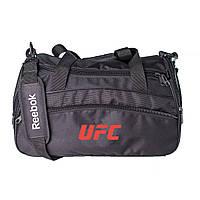 Спортивная сумка мужская каркасной формы Reebok UFC 25L