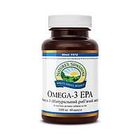 Omega 3 EPA Омега-3 (Натуральный рыбий жир), NSP, США. Форма выпуска: 60 капсул по 1600 мг