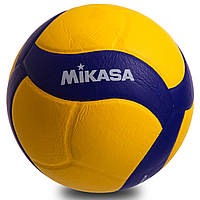 Мяч волейбольный клееный mikasa (PU, №5, 5 сл., клееный)