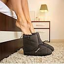 Кемпинговые утеплённые тапочки Naturehike. Кемпинговая обувь Naturehike. Размер XXL (44-45) черный, фото 4