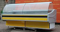 Холодильная витрина охлаждаемая «Cold W-24 SG» 2.4 м. (Польша), широкая выкладка 80 см., Б/у, фото 1