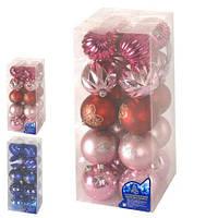 Елочные шарики 8см 20шт/кор (8537)