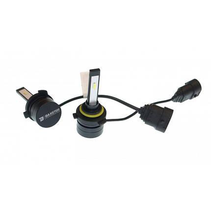 Комплект LED ламп BAXSTER SX HB4 P22d 9-32V 3000K 4000lm пассивное охлаждение, фото 2