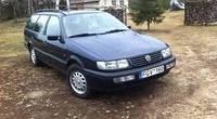 Дефлекторы окон, ветровики \  VW Passat 5d 1993-1997 Combi b4 \ Фольксваген Пассат Б4 \ RACING