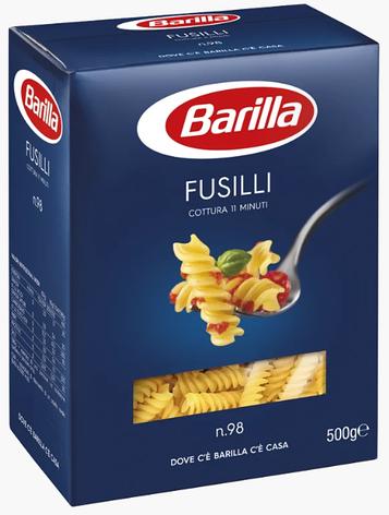 Макарони BARILLA 98 FUSILLI спіраль, 500гр, фото 2