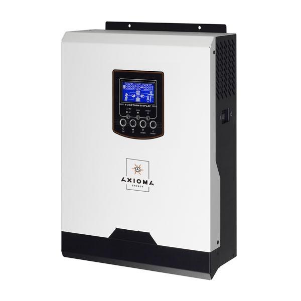 Автономный инвертор ИБП 1000Вт, 12В + ШИМ контроллер 50А, ISPWM 1000, AXIOMA energy