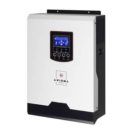 Автономный инвертор ИБП 1000Вт, 12В + ШИМ контроллер 50А, ISPWM 1000, AXIOMA energy, фото 2