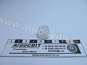 Втулка тормозного трубопровода, диаметр 12 мм.; кат. № 864817 (пластик)