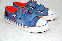 Кеды Style Baby р.31-36 (NB24 I.blue-orange) 32