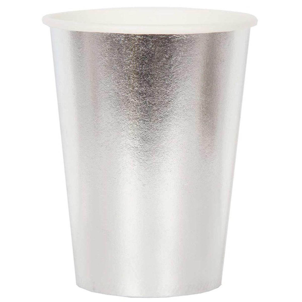 Стакан срібний