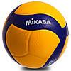 М'яч волейбольний клеєний mikasa (PU, №5, 5 сл., клеєний)