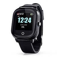 Детские смарт-часы Lemfo DF50 Ellipse Aqua с GPS трекером (Черный)