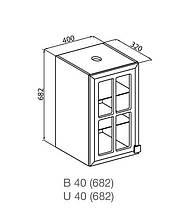 Кухонный модуль Мишель В 40СК