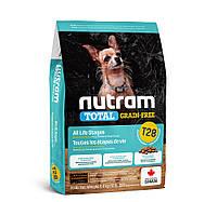 NUTRAM T28 Salmon & Trout- Холистик корм для мелких пород собак. БЕЗ ЗЛАКОВЫЙ, лосось и форель 5.4 кг