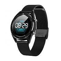 Умные часы No.1 DT28 с ЭКГ и пульсоксиметром (Черный)