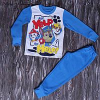Пижама на мальчика на флисе на 2-6 лет (1054) р.60 ( рост 98-104 см, 3-4 года)