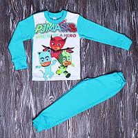 Пижама на мальчика утепленная на флисе на 2-6 лет (1141) р. 64 ( рост 104-110 см, 4-5 лет)