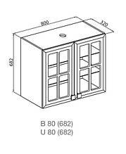 Кухонный модуль Мишель В 80 СК