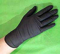 Перчатки нитриловые неопудренные Medicom BLACK р.S  пара