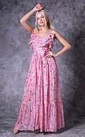 Женское платье из шифона Poliit 8720