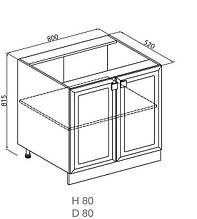 Кухонный модуль Мишель Н 80