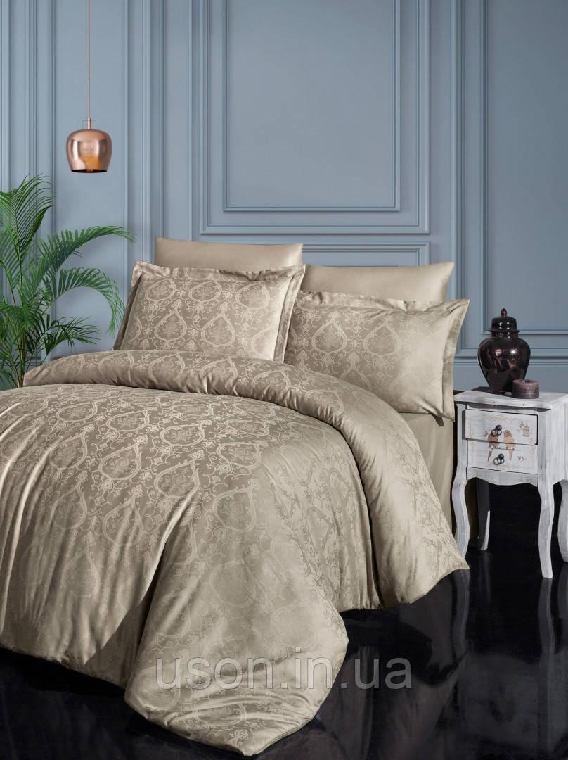 Комплект  постельного белья  жаккард superior modal  TM First Choice  200*220 Jade Baden
