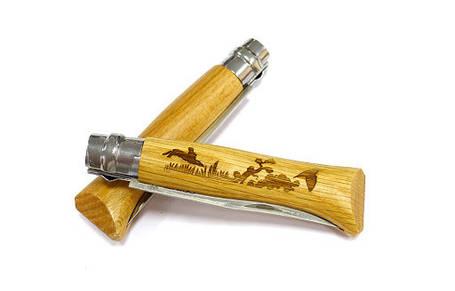 Нож Opinel  INOX ANIMALIA HARE NO.08 002333, фото 2