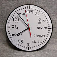 Часы настенные для кабинета математики