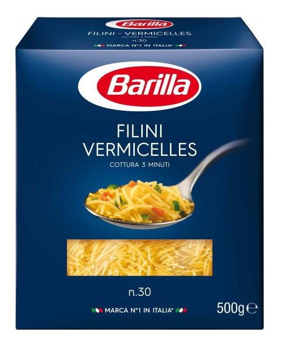 Макарони BARILLA 30 FILINI VERMICELLES 500гр