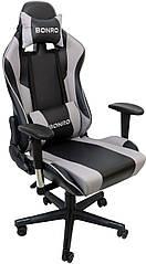 Крісло геймерське Bonro 2011-А Gray (40900000)