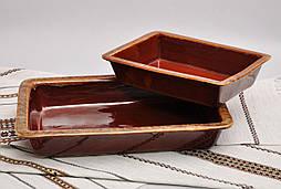 Противень для запекания малый 1л, коричневый