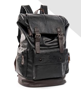Рюкзак чоловічий Fashion чорний ( код: R454 )