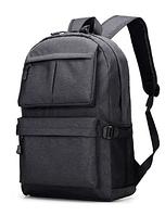 Рюкзак чорний з кишенями ( код: R458 ), фото 1